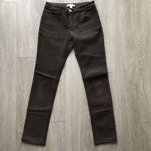 Givenchy brown jeans size 38 (fits like a 2/4)